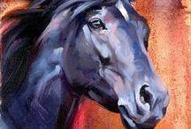 Horse images decoupage