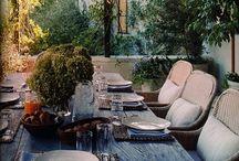 Balconies/terraces/verandas