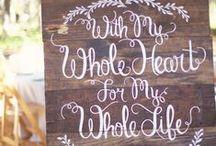Wedding Vows / Wedding ceremonies and vows