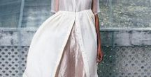 SANJAY GARG SUMMER 2015 / The garments in this collection are a reflection of his attempts to go back to the inherent beauty of a hand woven garment's craftsmanship and raw material, without relying on heavy surface embellishments or ornamentation, which, if one looks at the current market behaviour, qualifies its worth.