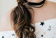 pretty hairstyles / Utah-based life & style blogger  //   Hairstyle & color inspiration. On trend hair cuts and colors.