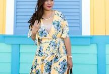 spring & summer fashion / Utah-based life & style blogger  //   Spring & Summer fashion inspiration, how to wear different pieces, pattern matching, easy style ideas, and more.