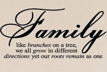 family reunion / Family like branches on a tree,we all grow in different directions yet our root remain as one. / by Ruth Espinoza