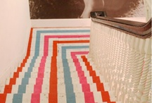Flooring- Rugs & Carpet / Area rugs, carpet, natural and woven / by Cheryl Sweeney