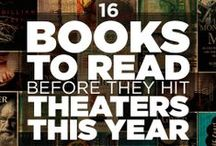 Read: Books to Movies / Books coming soon to the big screen! We all know the book is better than the movie, so check out these titles today!  / by Lawrence Public Library