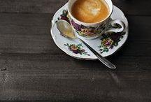 cups / for the love of coffee and beautiful cups! #coffee #tea #cozy #light #morning #cup #mug / by Darya Bogun