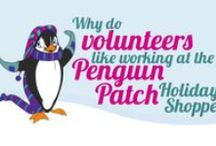 Penguin Patch Holiday Shoppe / Follow our board for tips on running your holiday shoppe!  Follow the link for your PTA/PTO service project! http://www.penguinpatch.com/