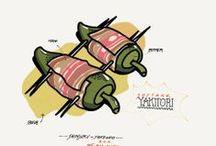 Food illustration / by Alessandro Mininno