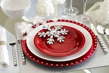 Christmas China & Tablescapes / by Sherri Clenney