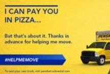 "#helpmemove #ecards / Share one of our #helpmemove #ecards with your friends and ""invite"" them to help you on moving day. #movingtips / by Penske 