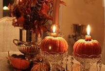 Fall Tablescapes,Centerpieces / by Sherri Clenney