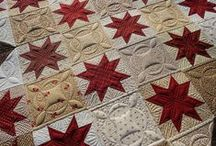 Quilting the Quilt / Some of the best designs for finishing the quilt.