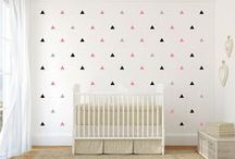for the home: baby girl nursery / Baby Girl Nursery ideas! / by Sandy a la Mode