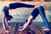 YOGA DUET / Yoga is just as peaceful and beautiful when shared with those who have the same love for it