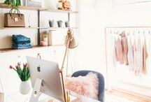 for the home: home office / Utah-based life & style blogger  //   Home Decor inspiration for home office.