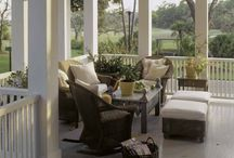 home - patio, deck, porch / by Jessica F. Simpson