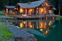 home - cabin / by Jessica F. Simpson