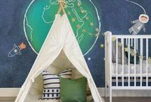for the home: kid's play room / Utah-based life & style blogger  //   Home Decor inspiration for a kids playroom.