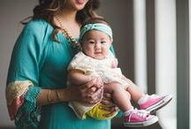 mommy + me style / For mama and little girl fashion! / by Sandy a la Mode