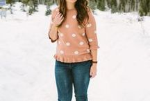 fall & winter fashion / Utah-based life & style blogger  //   Fall & Winter fashion inspiration, how to wear different pieces, on-trend outfits, pattern matching, easy style ideas, and more.