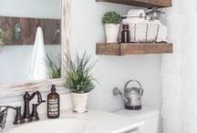 for the home: bathrooms / Utah-based life & style blogger  //   Home Decor inspiration for a bathroom.