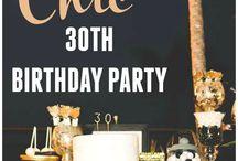birthday party ideas #30th