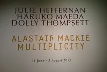 Current Exhibition Images / Images from our double exhibition: Alastair Mackie-Multiplicity Julie Heffernan/Haruko Maeda/Dolly Thompsett