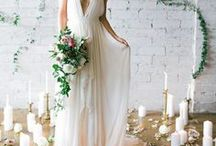 Brides & Gowns / Bridal style and gowns that make us swoon...