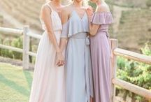 Bridesmaids / So many lovely choices! A few favorites...