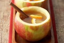 APPLE * RECIPES / You can find a lot of apple recipes, perfect for fall. Baking, salads, drinks.