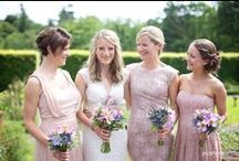 Pink weddings / pink wedding theme ideas Cornwall & Devon wedding photography