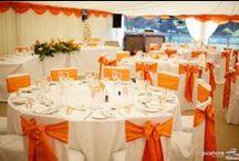 Orange weddings / orange wedding theme ideas and inspiration, Cornwall & Devon Wedding photography