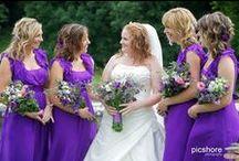 Purple weddings / purple wedding ideas and inspiration, Cornwall & Devon weddings