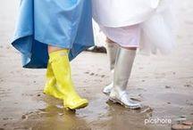 Wedding wellies / Cornwall & Devon wedding wells photography
