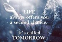 inspirational quotes / by Crystal☆