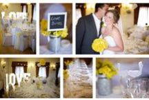 Yellow weddings / yellow wedding colour scheme inspiration, yellow wedding ideas