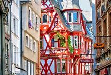 Germany - Marburg / Marburg is one of the best-preserved medieval cities in Germany. Friendly and convenient, but packed with culture!