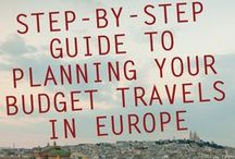 Travel Tips / Prepping for travel can be stressful! These packing, budgeting and cost-cutting tips will help you save time and effort in the process!