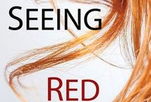 Seeing Red / Things that are related to my novel 'Seeing Red'