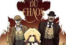 """""""L'Héritage du Chaos"""" (série en 2 tomes) par Manu Cassier et Weissengel. / Augustin Dagneau et Noah Feuchtner ont tous deux connu les tranchées de la première guerre mondiale, chacun sous un drapeau différent. Cela ne les a pas empêchés de nouer, au lendemain d'un conflit dont ils sont revenus meurtris, une solide amitié.    Acheter le tome 1 sur """"La Boutique Sandawe"""" : goo.gl/xBV4Ld"""