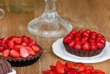 Erdbeer Rezepte / Alles rund um die Erdbeere – Rezepte für Kuchen, Cupcakes, Torten, Dessert und mehr.