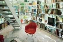 Home Libraries / Bringing the library into your home - fun, functional, and festive home libraries.