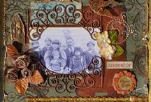 family history SCRAPBOOK / Genealogy and Scrapbooking