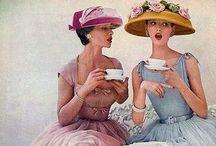 Mode Fashion Real Women 50s femininity  / Mode Fashion 50s vintage