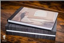 Great Wedding Albums / One of a kind wedding album creations. Custom designed by Hidden Kiss Studio and handcrafted in Italy by Graphistudio.