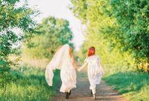<3 Mutter-Tochter-Schleier-Shooting <3 / <3 alle Bilder stammen von der lieben Katja von http://www.festtagsfotografien.de <3