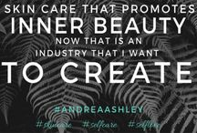 Andrea Ashley / We create custom, all natural skin care but first and foremost, we are a movement of self-care and self-love. Taking care of your body is essential but a healthy and happy lifestyle starts within. Our goal is to cultivate an environment where women feel free to inspire each other, to explore our strength and tap into what's authentic for us. We aim to create a safe space for women to connect and to remind each other to love ourselves and to take care of ourselves.