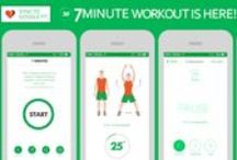 Workout & Fitness Apps / On this board you can get information about various fitness applications.