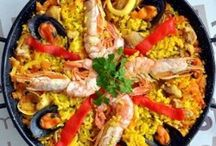 La Paella / Typical Spanish dish from Valencia Spain