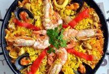 La Paella / Typical Spanish dish from Valencia Spain